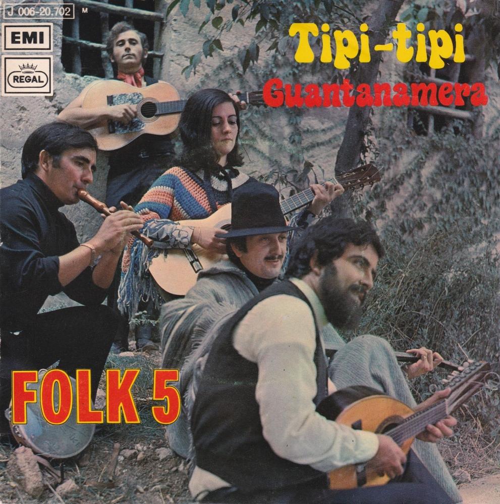 Folk 5        Tipi-Tipi              1971 Vinyl 7