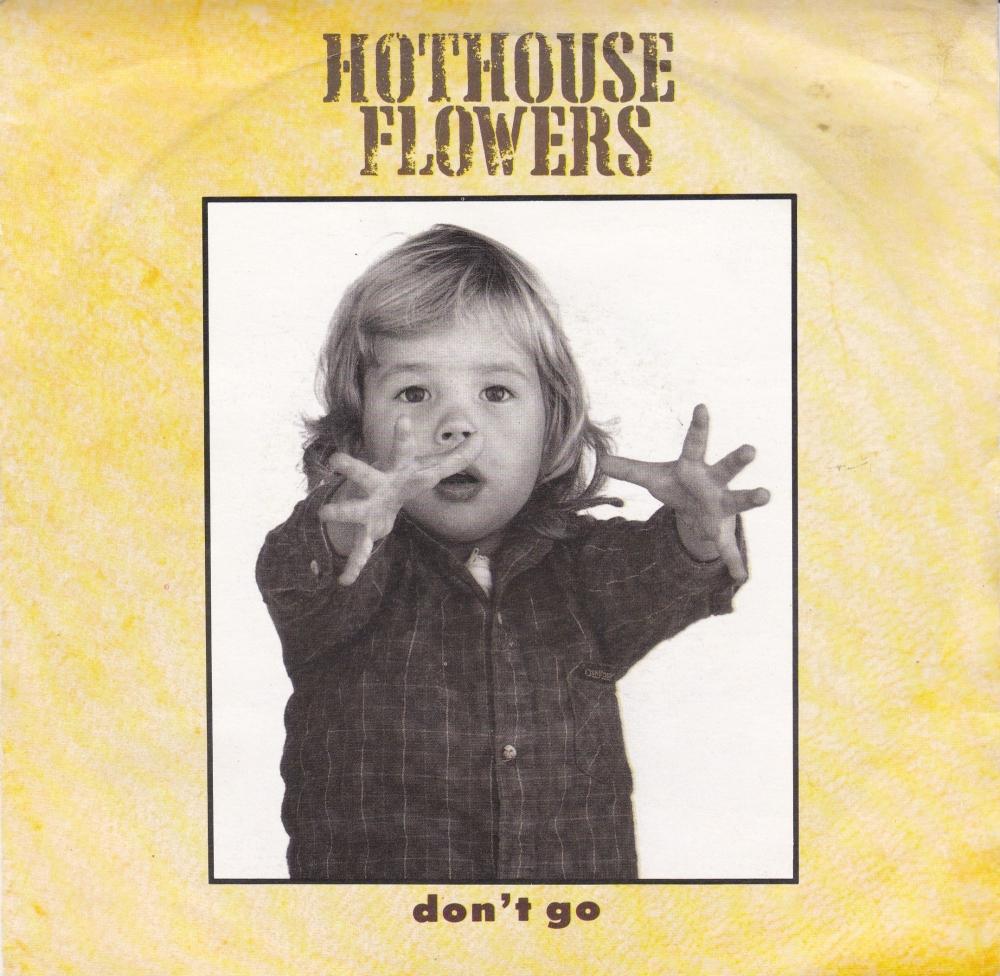 Hothouse Flowers     Don't Go      1988 Vinyl 7