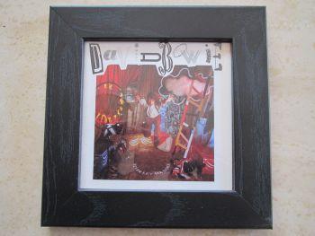 David Bowie Never Let Me Down    Framed CD Album Sleeve  Black Frame
