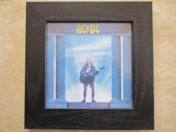 AC/DC    Who Made Who    Framed Original CD Album Sleeve    Black Frame