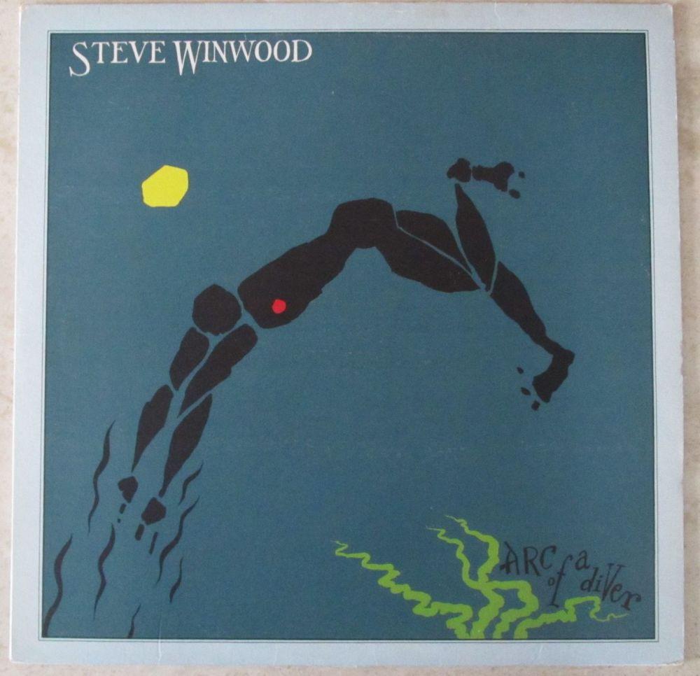 Steve Winwood Arc of a diver 1980 LP
