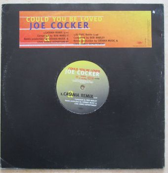 "Joe Cocker Could you be loved Promo 12"" vinyl single"