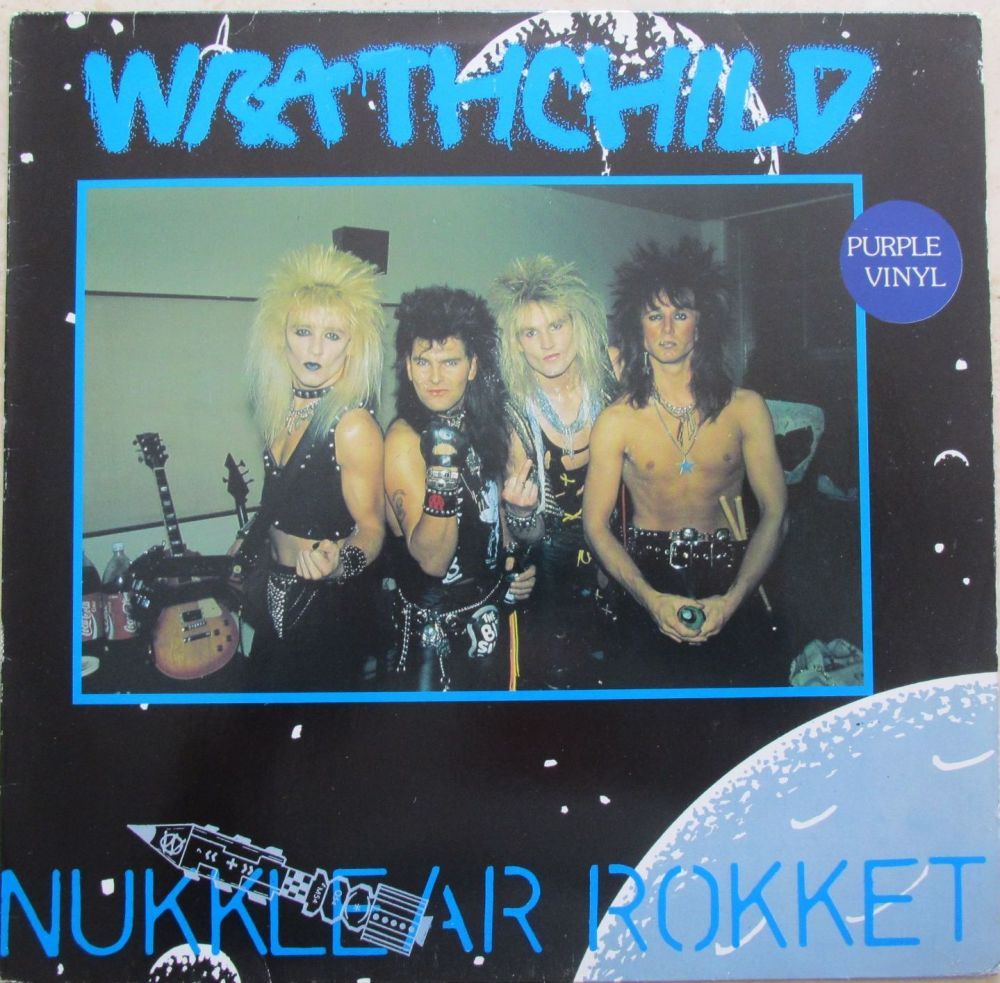 Wrathchild Nukklear Rokket purple vinyl 12