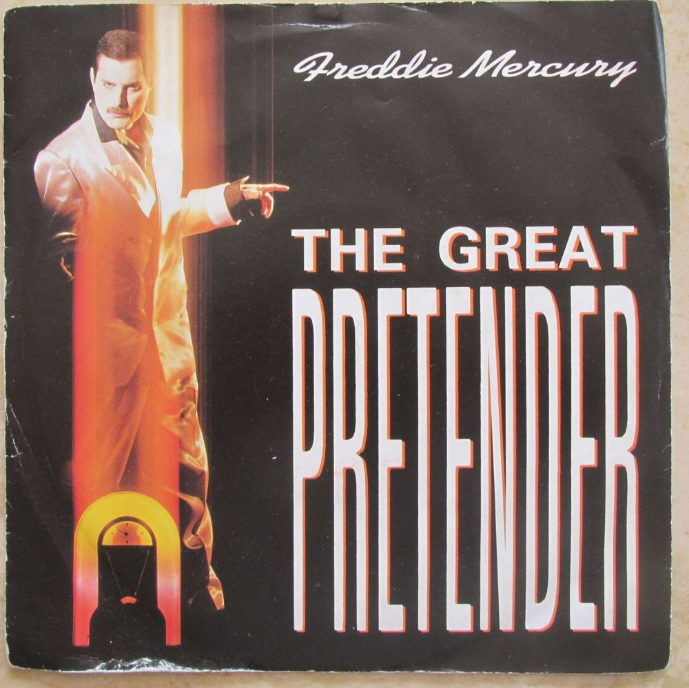 Freddie Mercury The Great Pretender 1987 7