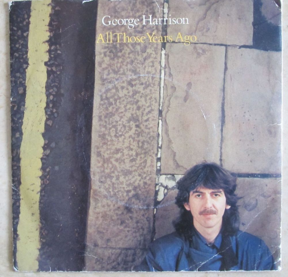 George Harrison All those years ago 1981 7