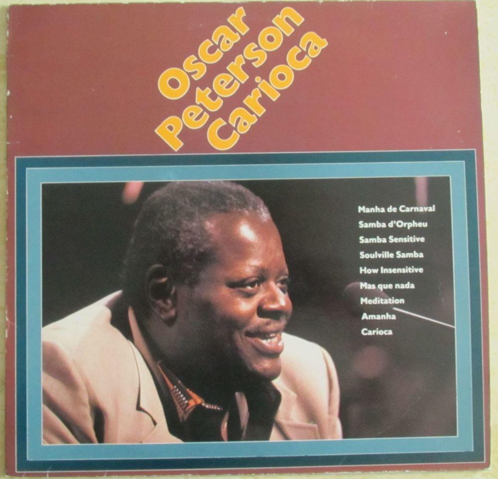 Oscar Peterson Carioca vinyl LP album record German B/90110 HAPPY BIRD 1983