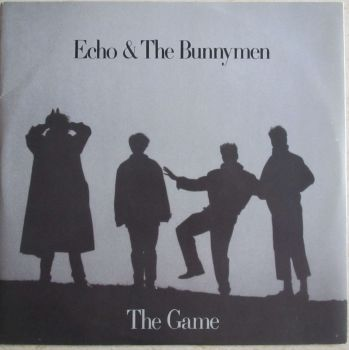 "Echo & The Bunnymen  The Game  1987 12"" vinyl single"