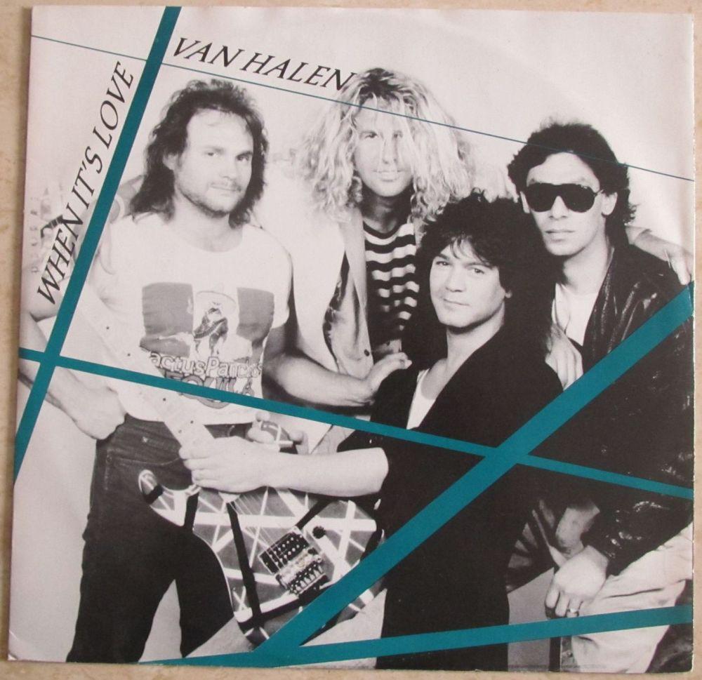 Van Halen When it's Love 12