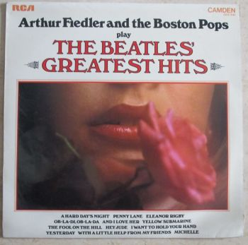 Arthur Fiedler and the Boston Pops play The Beatles Greatest Hits 1971 Vinyl LP