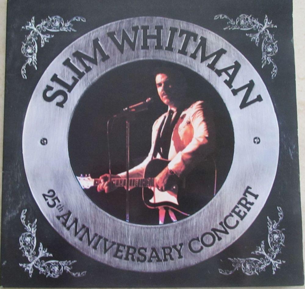 Slim Whitman 25th Anniversary  gatefold Vinyl LP