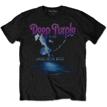 Deep Purple Smoke on the water official licensed t-shirt black