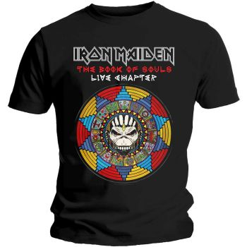 Iron Maiden Book of Souls Live official licensed t-shirt Black