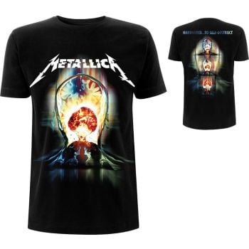 Metallica Exploded (back print) official licensed t-shirt Black