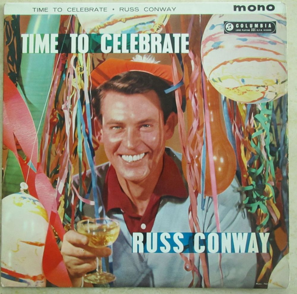 Russ Conway  Time to Celebrate 1959 Vinyl LP
