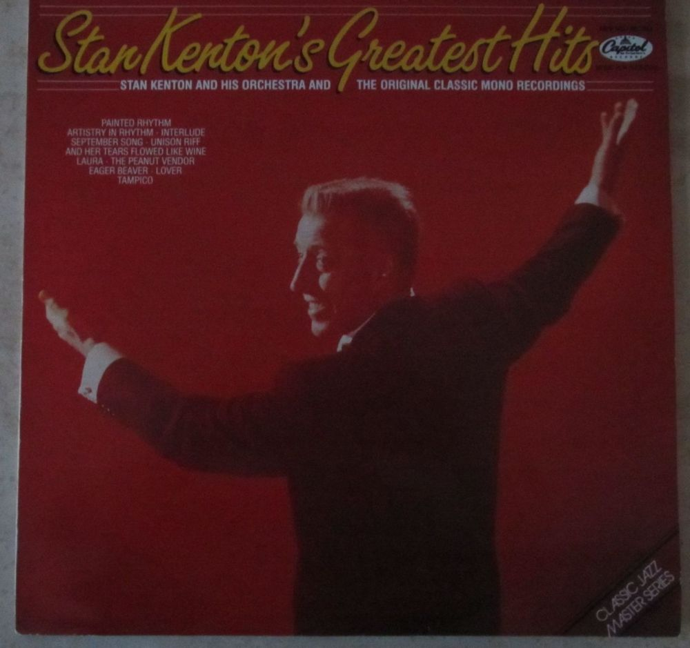 Stan Kenton's Greatest Hits Classic Jazz Master Series vinyl LP