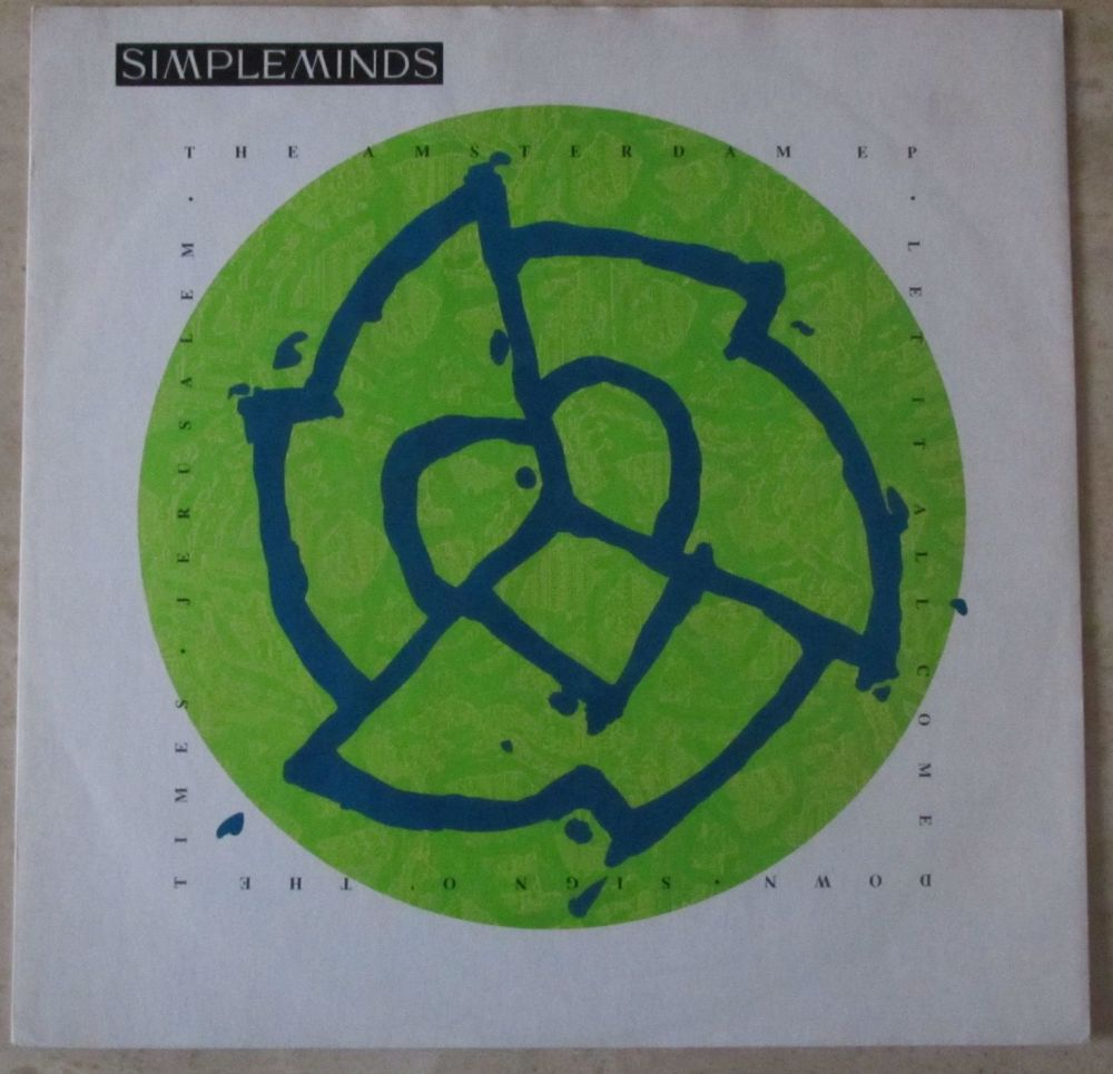 Simple Minds the Amsterdam EP Let it all come down 12