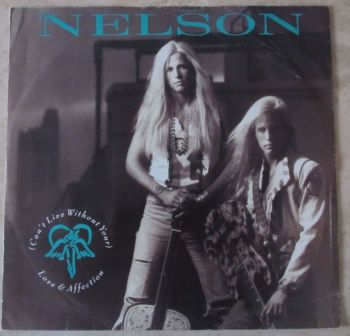 """Nelson (Can't Live Without Your)  12"""" single"""