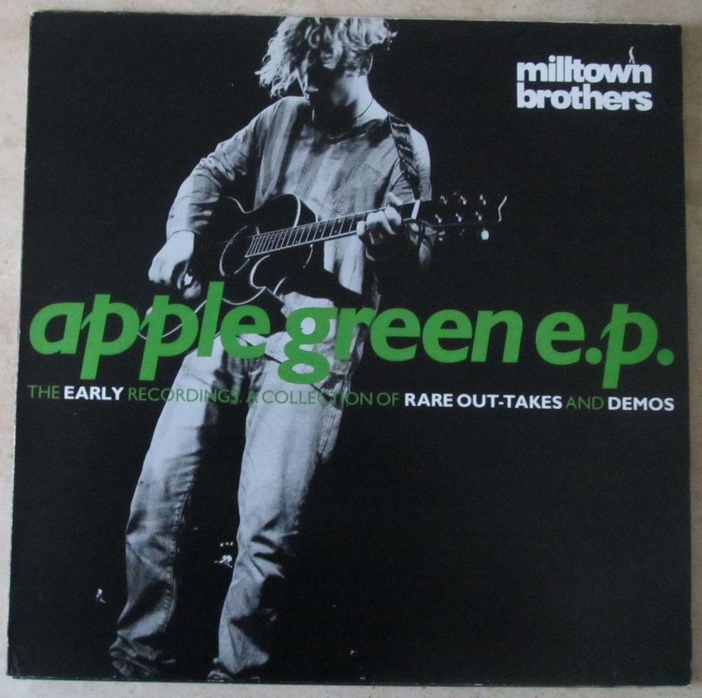 Milltown Brothers Apple Green e.p, limited edition numbered 12