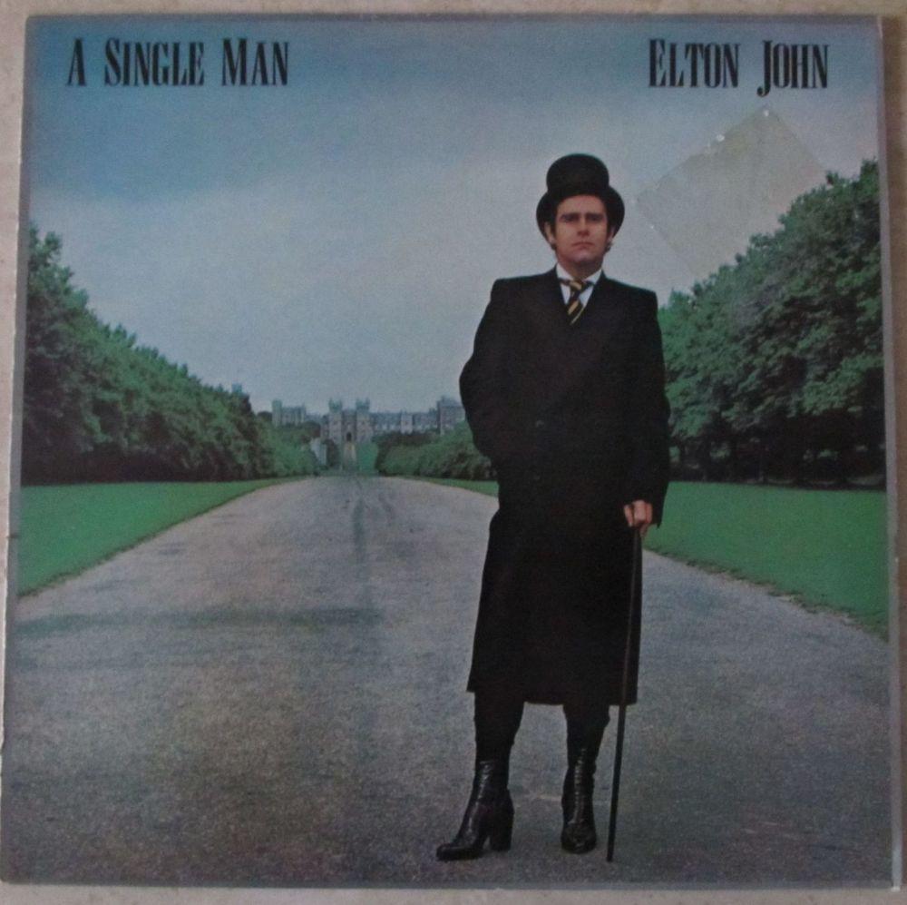 Elton John  A Single Man  1978 Vinyl LP