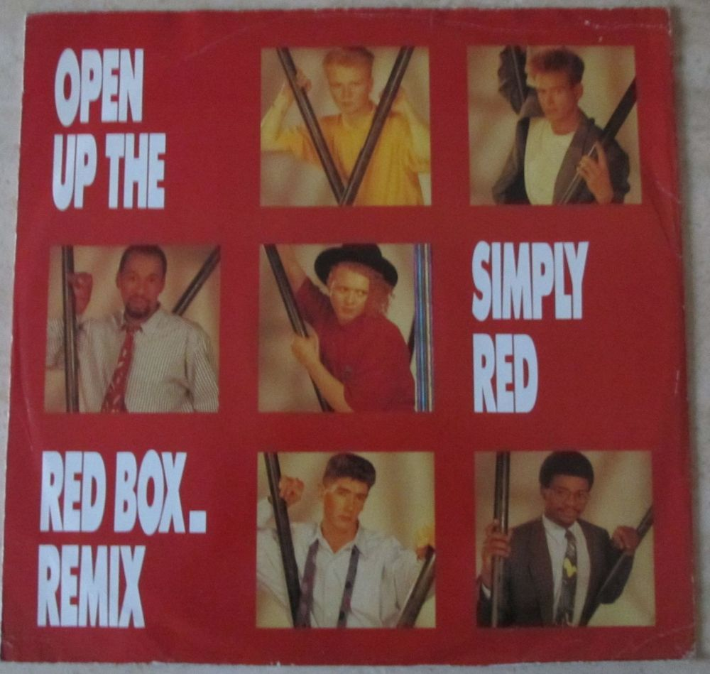 Simply Red Open up the red box remix 12