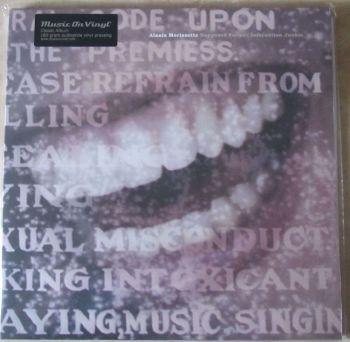 Alanis Morissette  Supposed Former Infatuation Junkie 180 gram gatefold Vinyl LP