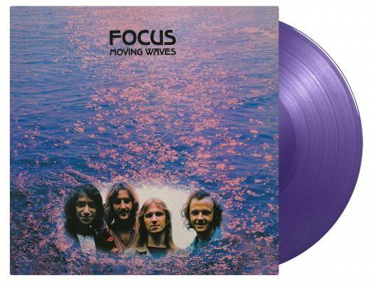 Focus Moving Waves 180gram limited edition purple vinyl LP