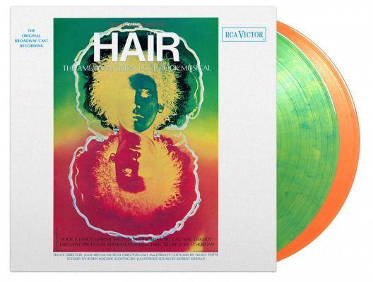 Original Broadway Cast Hair Limited edition coloured vinyl