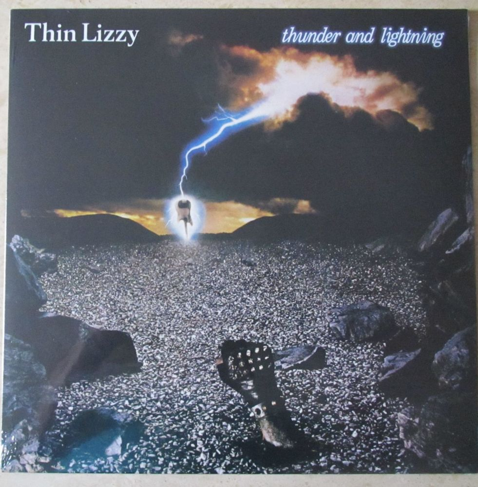 Thin Lizzy Thunder and Lightning 2020 Vinyl LP