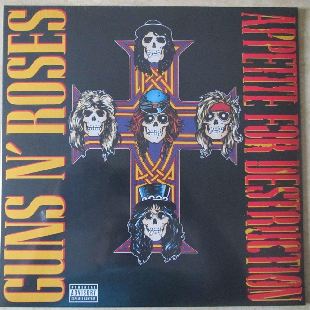 Guns n' Roses Appetite For Destruction Vinyl LP