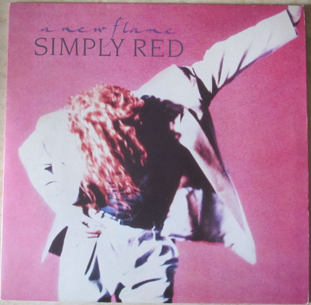 Simply Red  A New Flame 1989 Vinyl LP