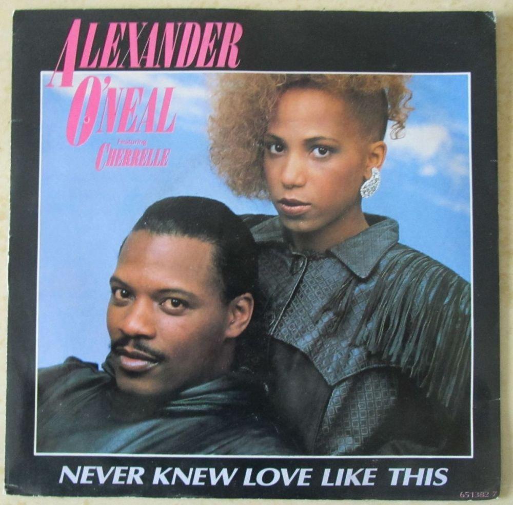 Alexander O'Neal ft Cherrelle Never Knew Love like This 7