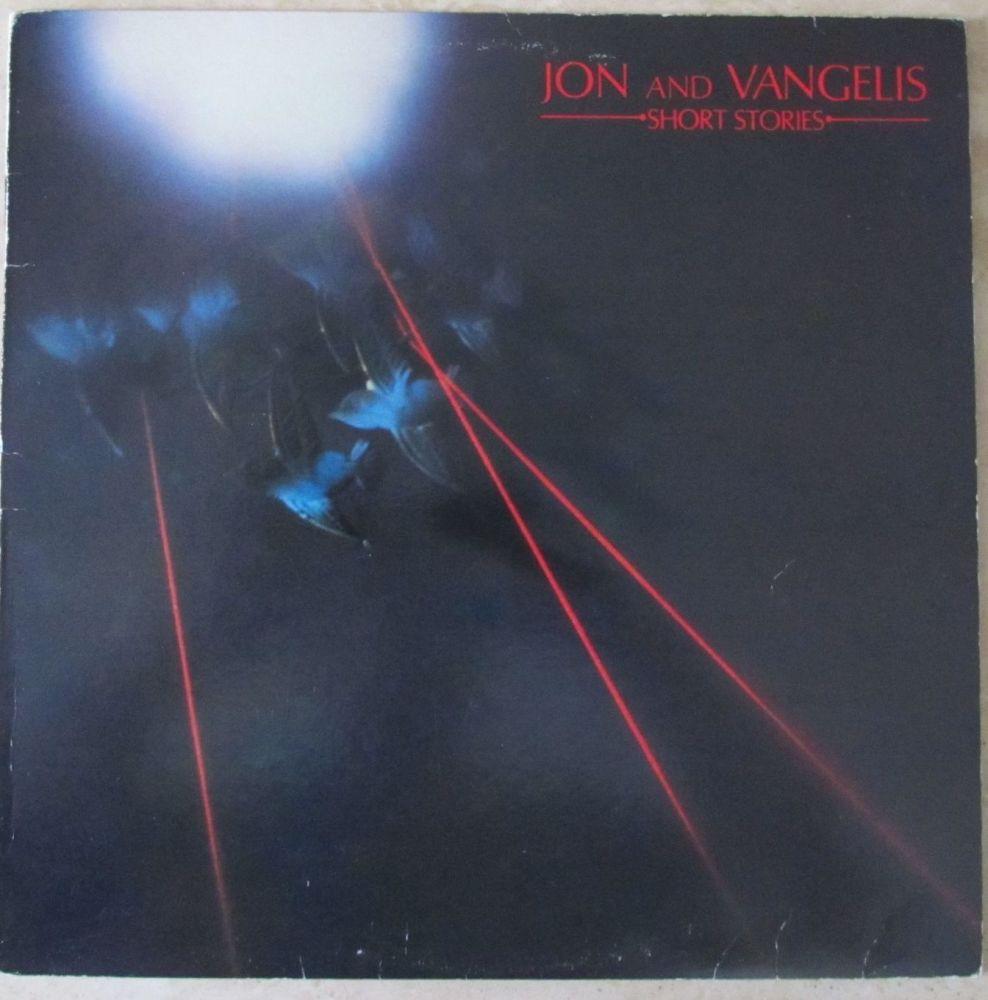 Jon and Vangelis Short Stories Vinyl LP with Lyric inner sleeve