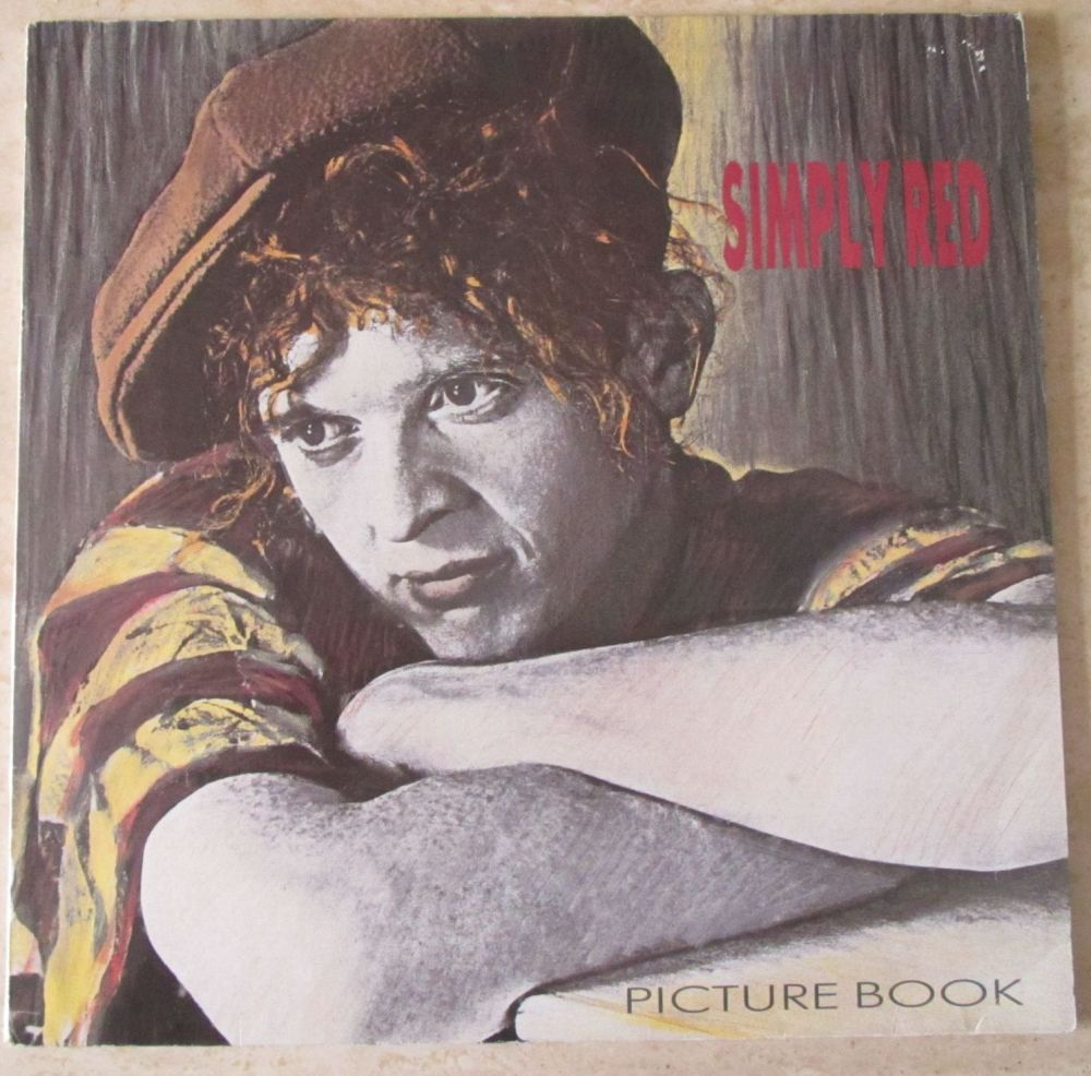 Simply Red Picture Book 1985 Vinyl LP