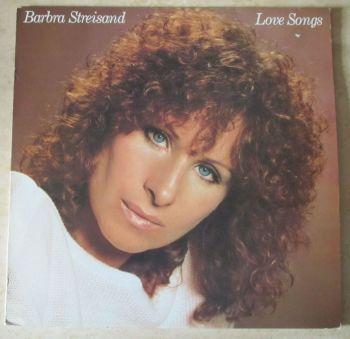 Barbara Streisand Love Songs  1981 Vinyl LP + inner sleeve