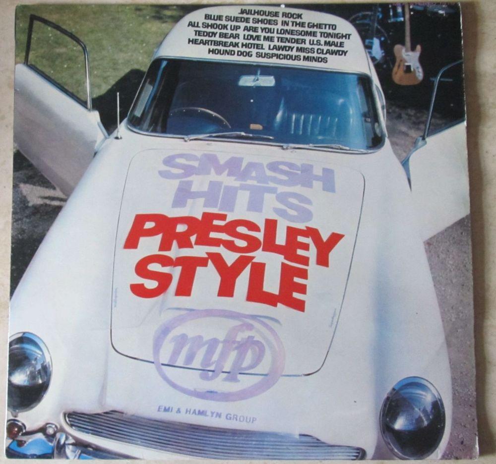 Smash Hits Presley Style Vinyl LP