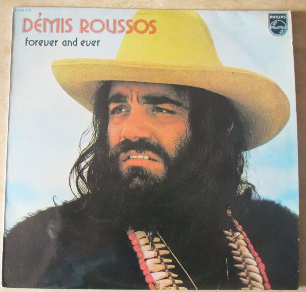 Demis Roussos Forever and Ever Vinyl LP