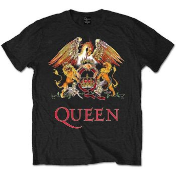 Queen unisex Classic Crest Official Licensed T-shirt