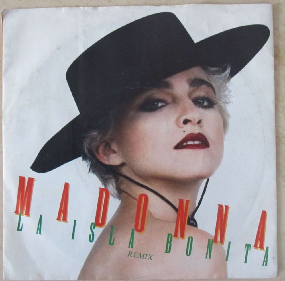 Madonna La Isla Bonita  (remix) 7