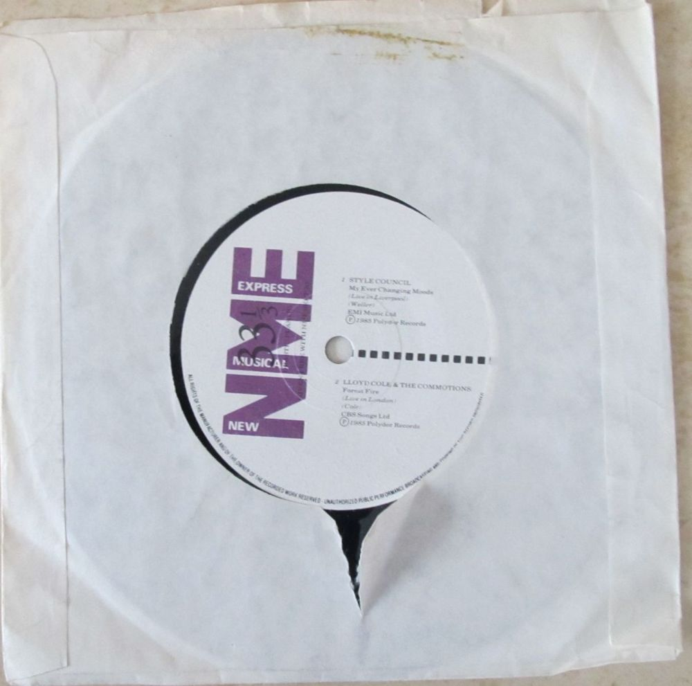 NME Various artists Style Council/Lloyd Cole/Robert Cray/Prefab sprout  7
