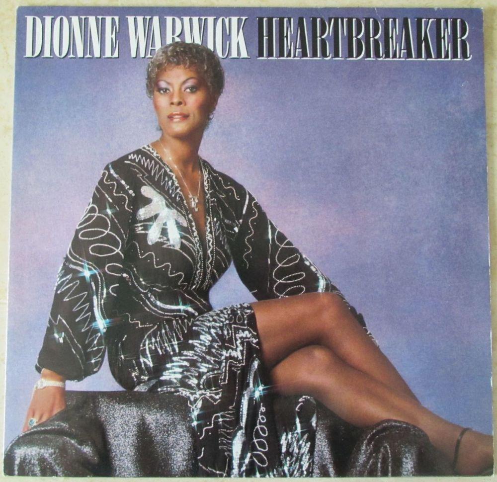 Dionne Warwick Heartbreaker 1982 vinyl LP