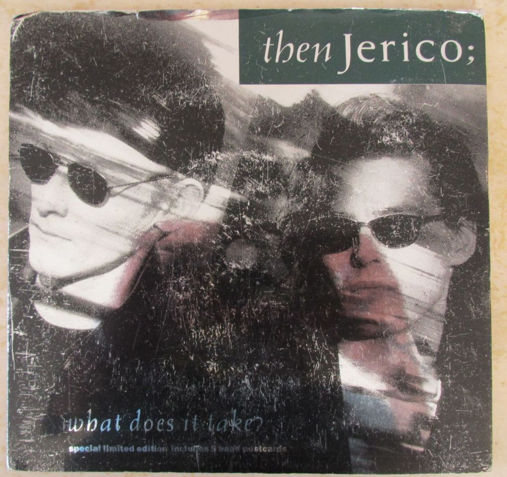 Then Jerico What does it take? Special Limited Edition 7