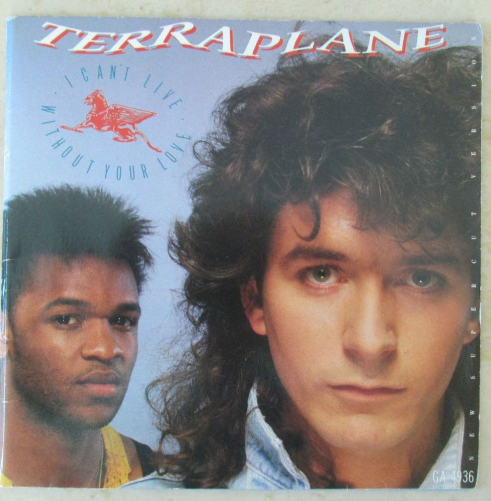 Terraplane I Can't  Live without Your Love 1984 gatefold 7