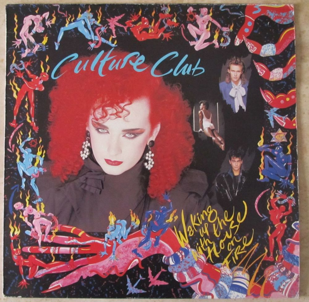Culture Club      Waking Up With The House On Fire   1984 Vinyl LP   Pre-Us
