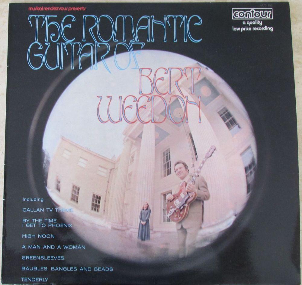 Burt Weeden The Romantic Guitar of 1970 Vinyl LP