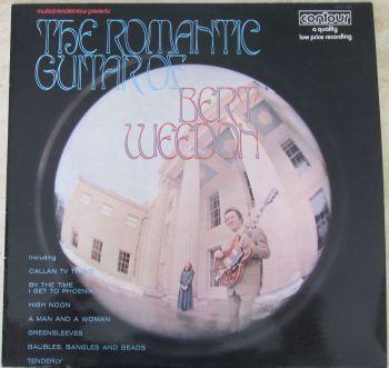 Bert Weeden The Romantic Guitar of 1970 Vinyl LP