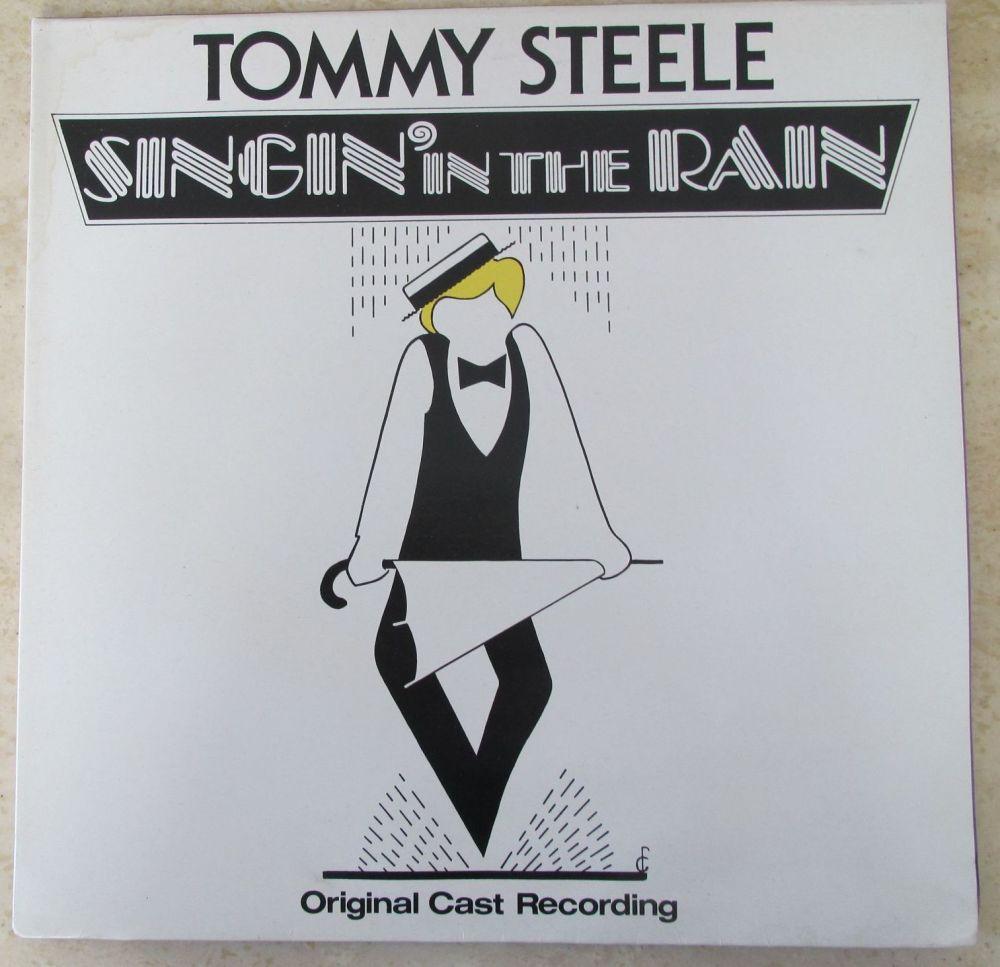 Tommy Steele Original Cast Recording Singin' in the Rain  Gatefold vinyl LP