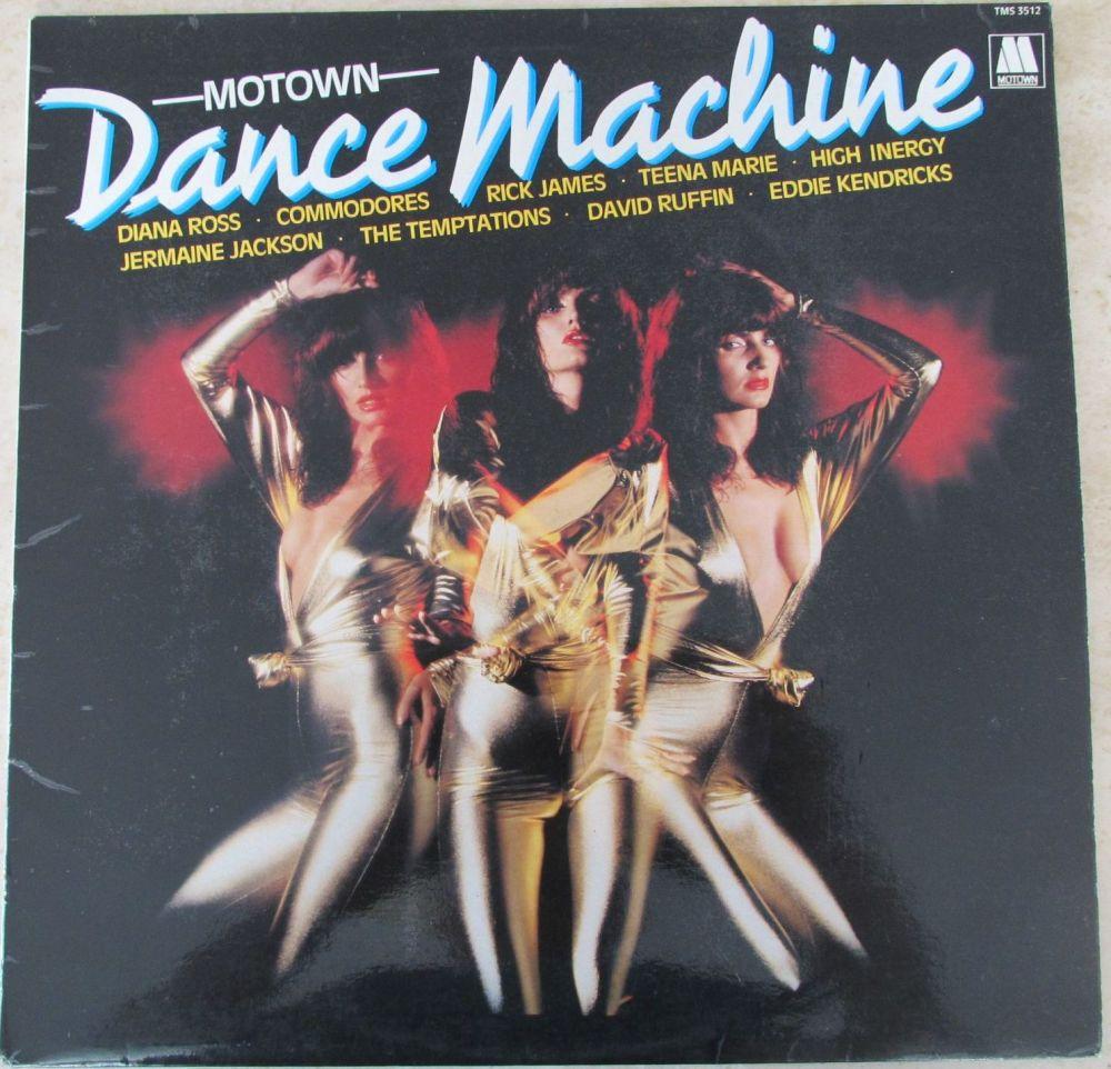 Various Artists Motown Dance Machine 1982 Vinyl LP