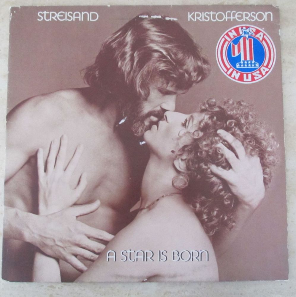 Streisand & Kristofferson A Star Is Born 1976 Vinyl LP Gatefold inner bag