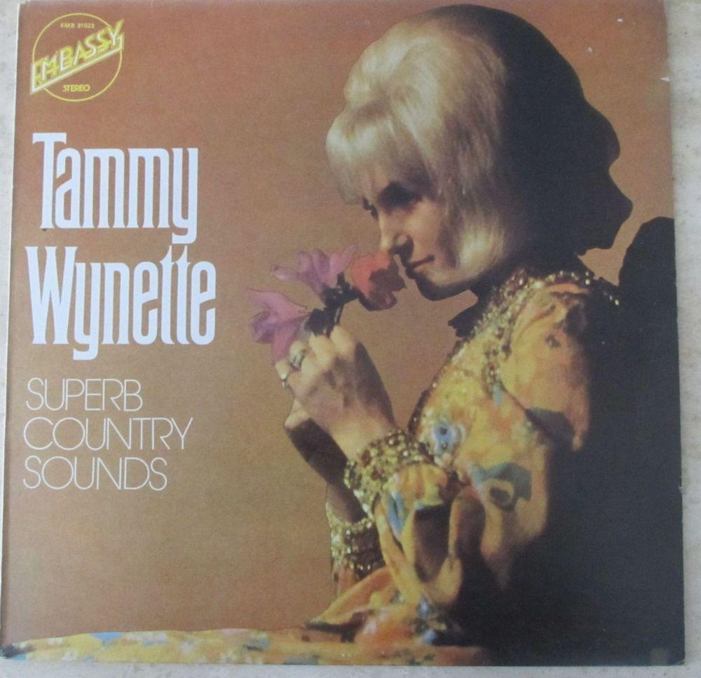 Tammy Wynette Superb Country Sounds 1973 Vinyl LP