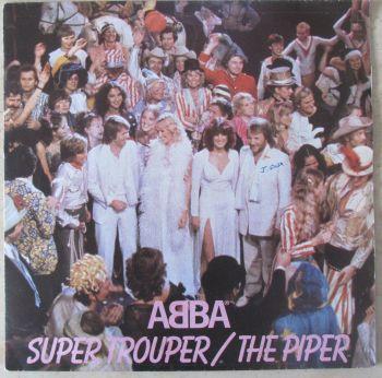 """Abba Super Trouper /  The Piper 1980  7"""" single"""